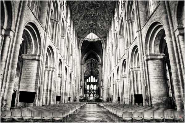 Ely Cathedral - B&W