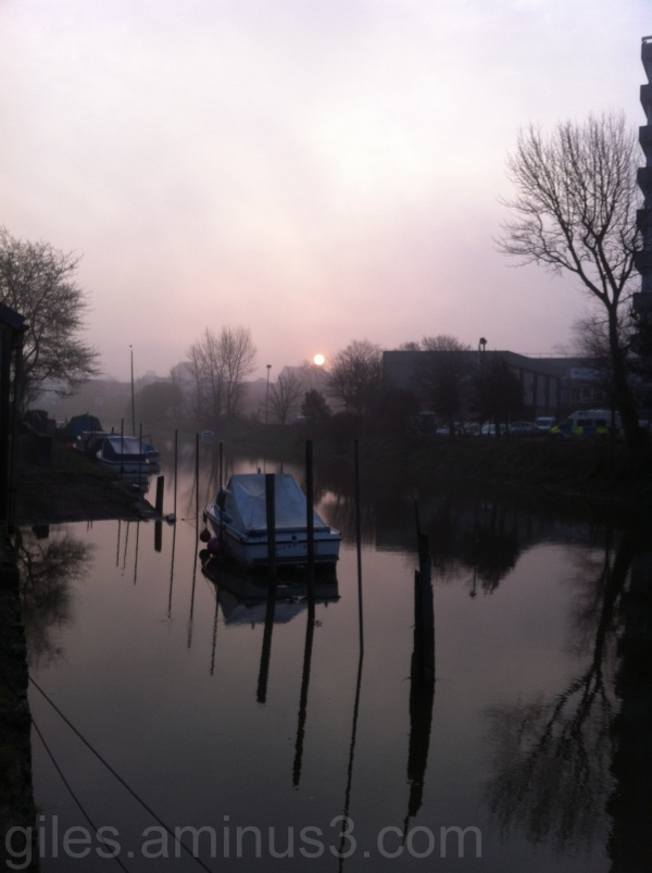 Dawn on the River Yeo