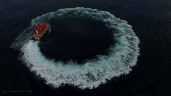 Fireboat Vigiles Full Circle