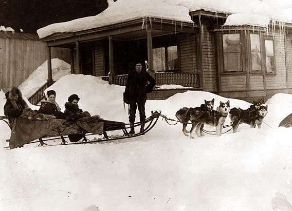 An Alaskan Dog Team