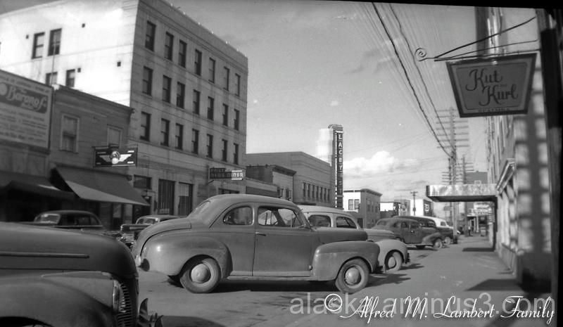 A Street Scene in Anchorage, Alaska