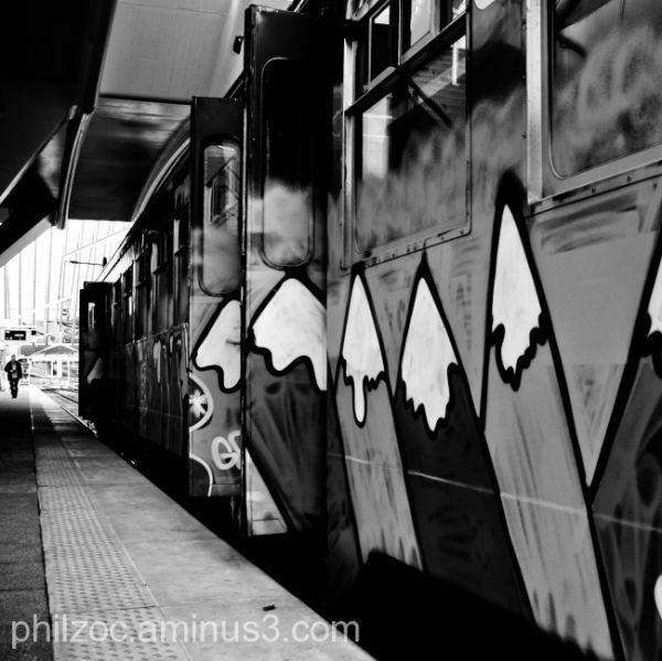 La montagne au train