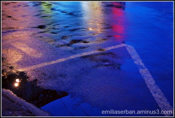 coloured pavements