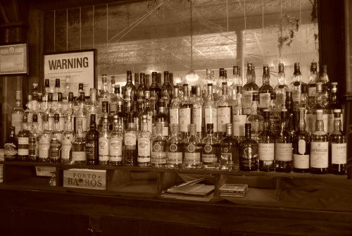 Scotch in Bridge Cafe New York City