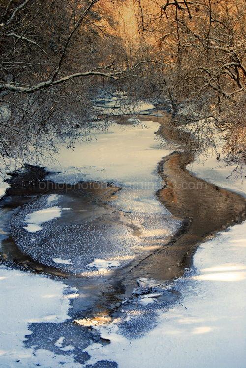 Camp Wyndott, Ice stream, Ice storm