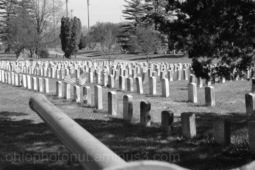 Greenlawn Cemetary, World War I, World War II, Kor