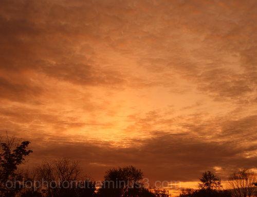 Sunset in Columbus Ohio