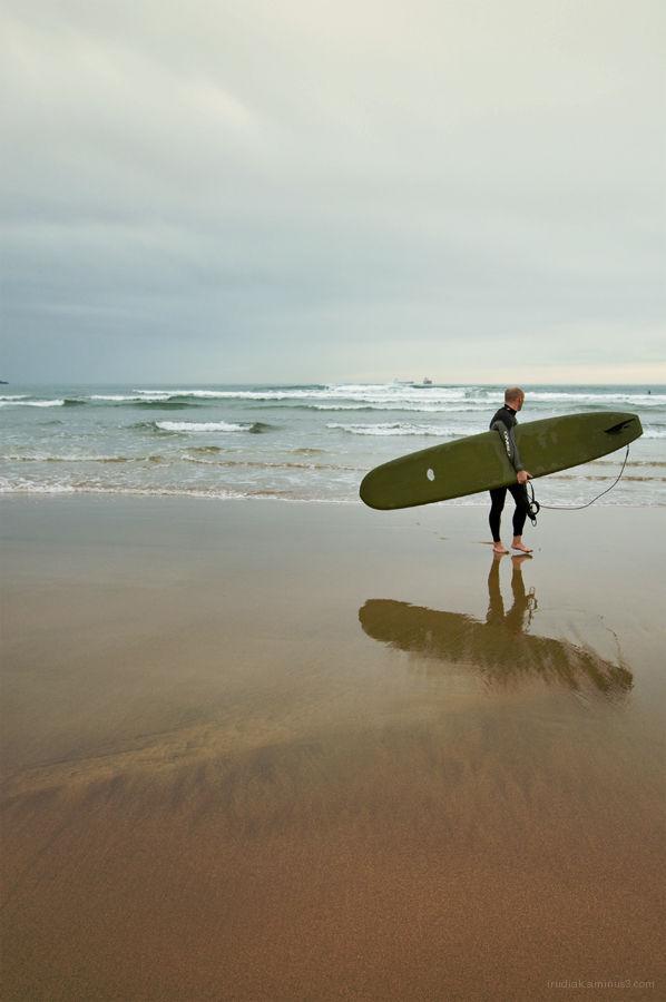 bing longboard surf
