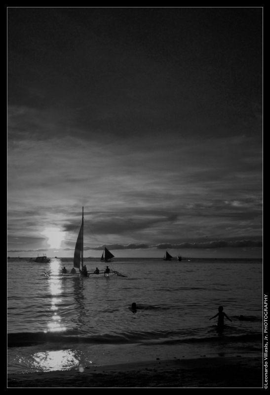 Boracay, Sunset