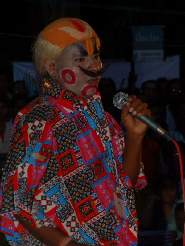 artist at chennaisangamam '09