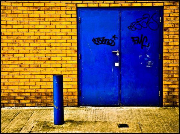 door, street