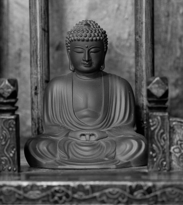 Buddha in Small Shrine (Day 24)