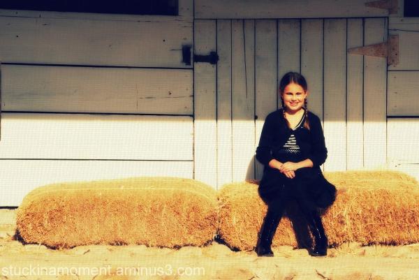 Sittin' on some Hay