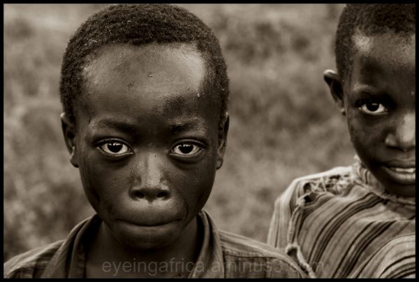 Young Congolese boy at Nakivale refugee camp