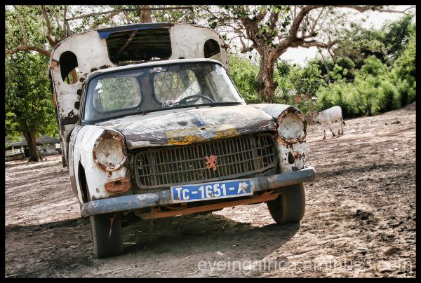 The taxi from Gambia to Senegal