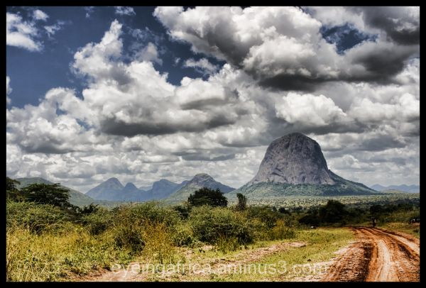 The Mountains Of Abim, Karamoja District, Uganda