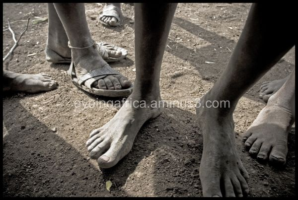 Barefoot in Africa