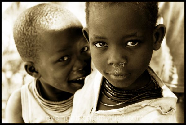 Ugandan Children Smiling