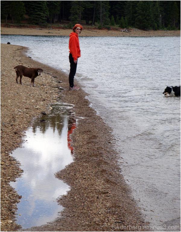 Reflections at birthday beach