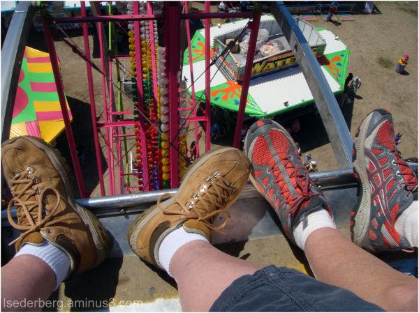 Feet on the Ferris Wheel