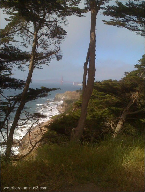 View of Golden Gate from Lands End