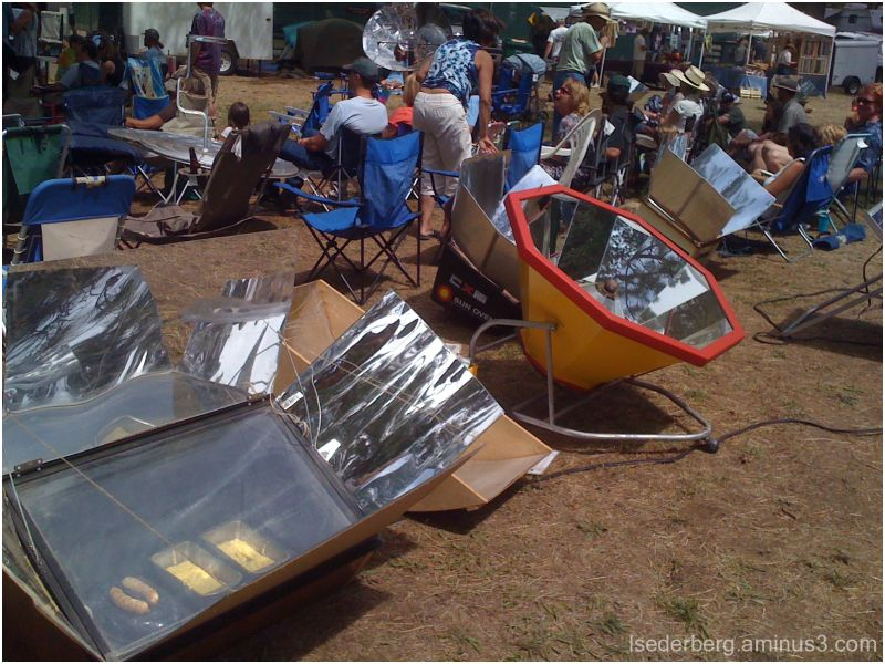 Solar Cook-Off ovens