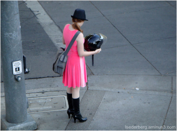 Student in Pink