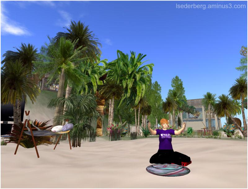 Virtual yoga in SL