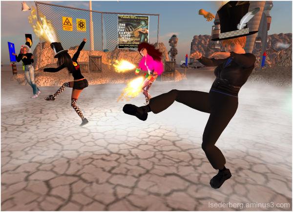 ST: SL dancing