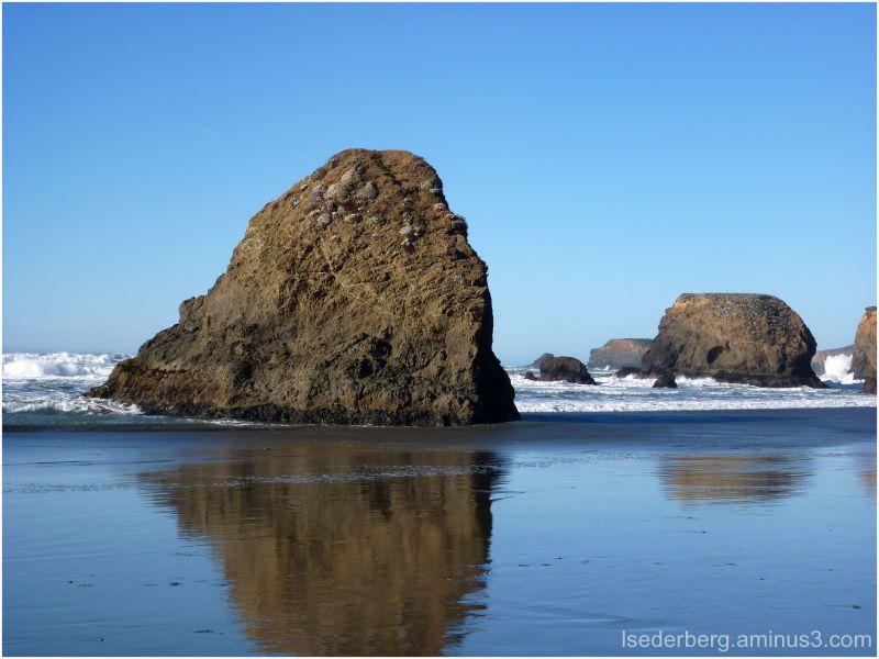 seaside Rocks and Beach