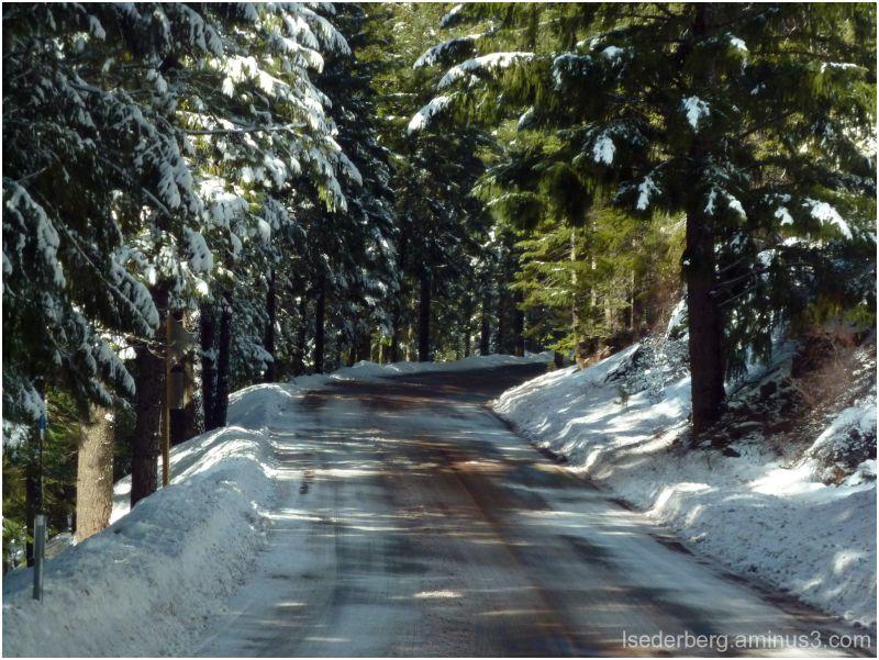 Hwy 32 in winter
