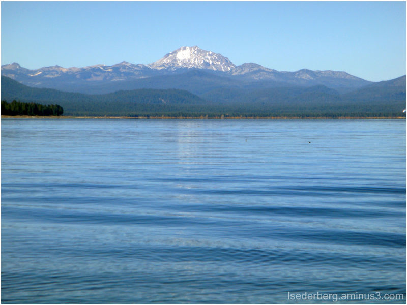 Mt. Lassen from Lake Almanor