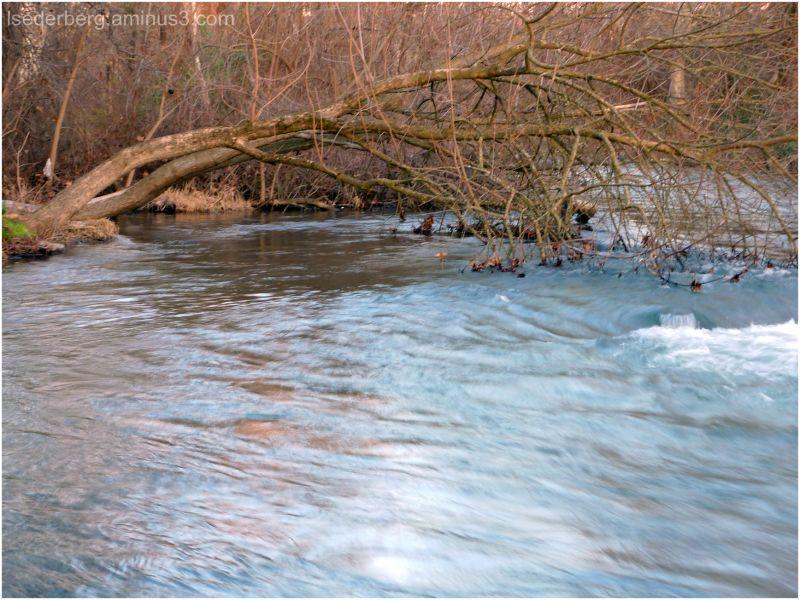 Swollen creek