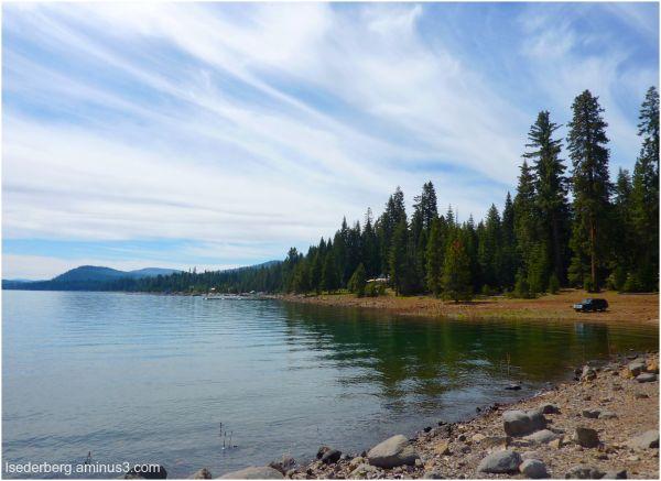 Lake Almanor sky