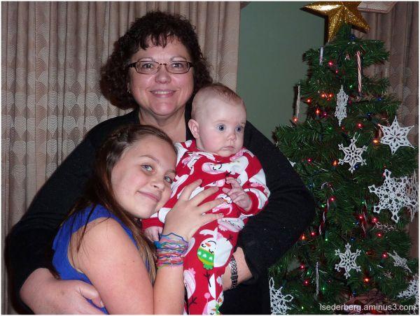Madison, Grace and Grandma