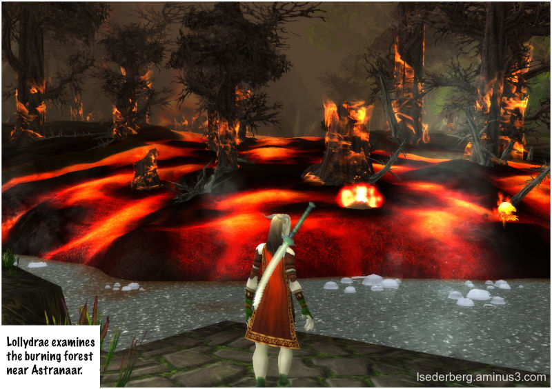 Lollydrae examines fires