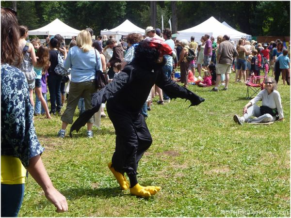 Condor in parade