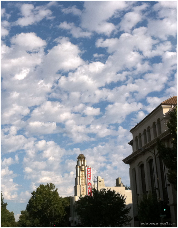 Clouds over the Senator Theatre
