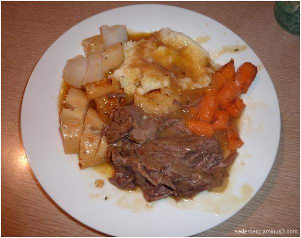 Pot Roast - the meal