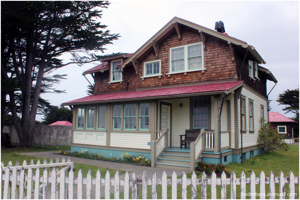 Caretaker's house at Point Cabrillo Lighthouse