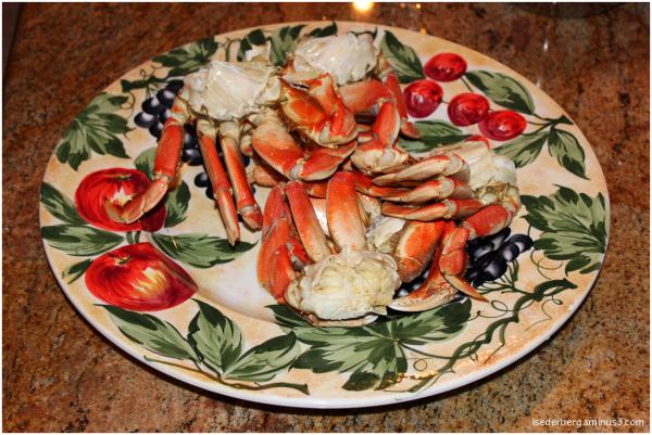 Mendocino crab