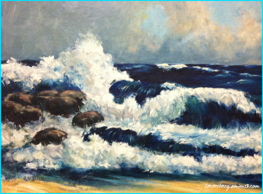 Painting of the ocean