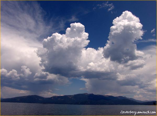Lake Almanor clouds