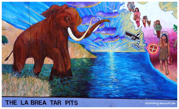 Mural: Tar Pits