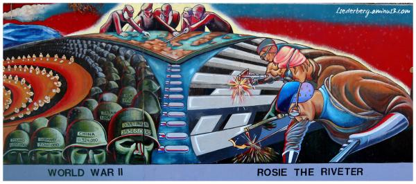 Mural: World War II