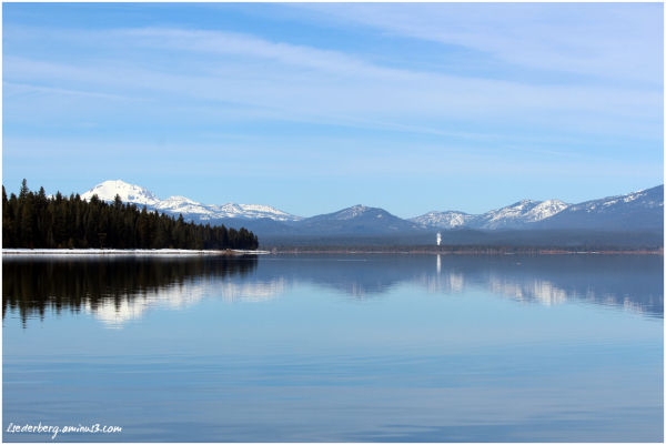 Winter at Lake Almanor