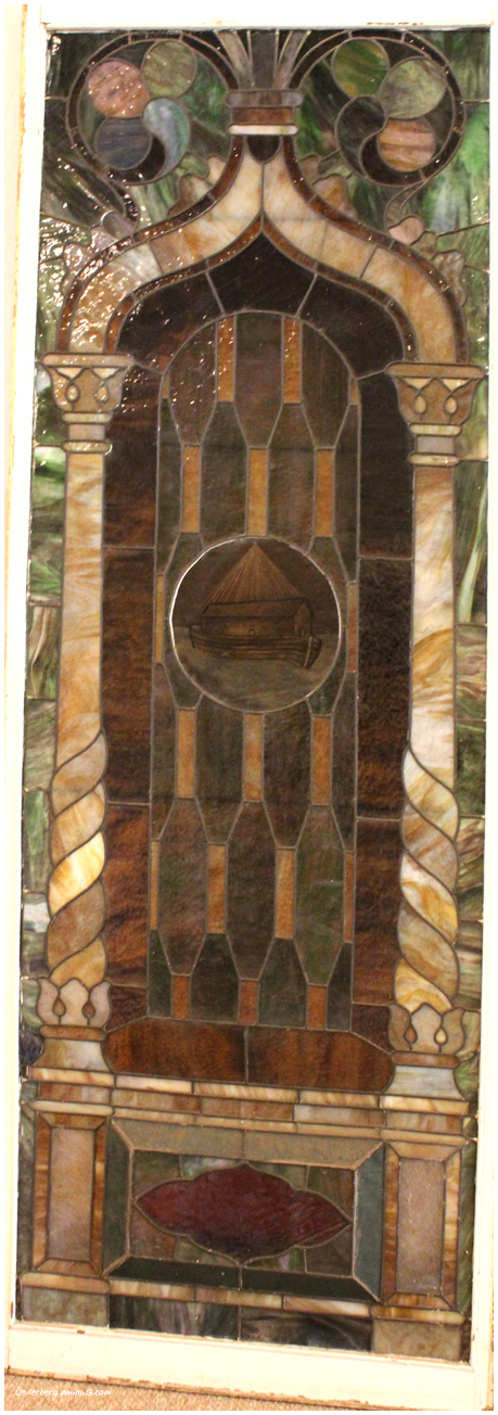 FBC stained glass window