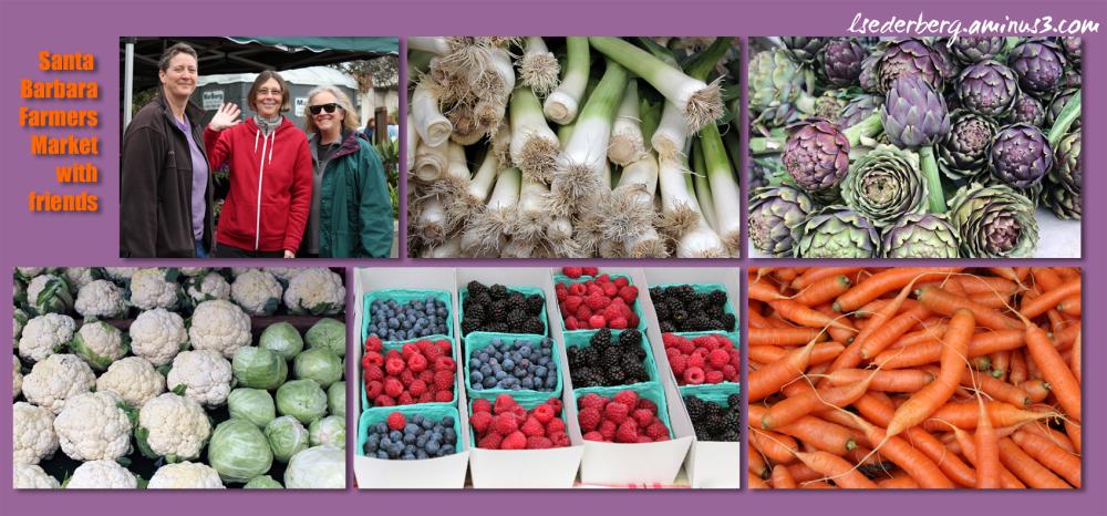Farmers Market in SB