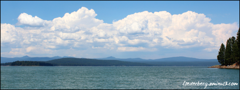 Clouds over Lake Almanor