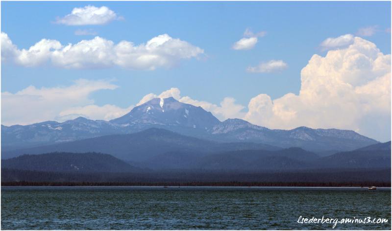 Mt. Lassen in summer